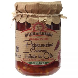 Delizie di Calabria Hot Crushed Calabrian Pepper 135g
