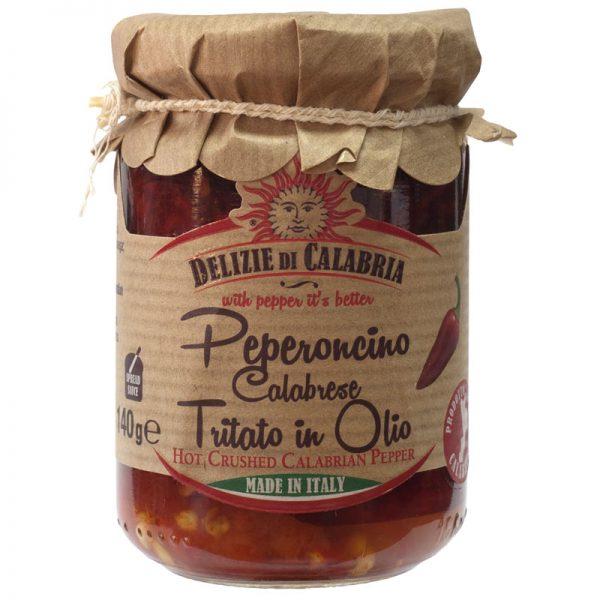 Delizie di Calabria Hot Crushed Calabrian Pepper 135g