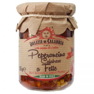 Delizie di Calabria Hot Sliced Calabrese Pepper 135g