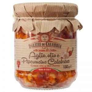 Alho Óleo e Pepperoncino Delizie di Calabria 180g