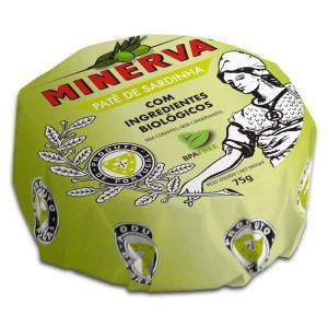 Paté Sardinha com Ingredientes Biológicos Minerva 75g