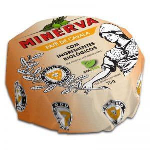 Paté de Cavala com Ingredientes Biológicos Minerva 75g