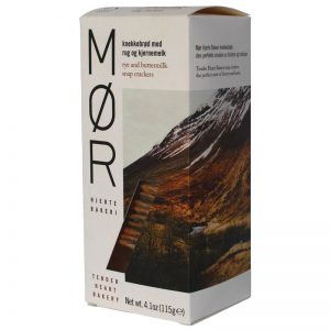 MOR Rye and Buttermilk Snap Crackers 115g