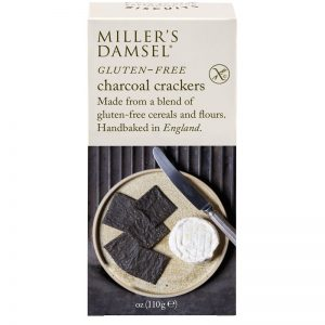 Artisan Biscuits Millers Damsels Charcoal Crackers Gluten Free 110g