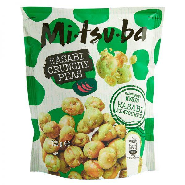 Snack de Ervilhas com Wasabi Mitsuba 125g