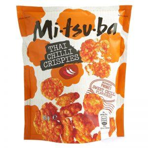 Snack Tailandês de Arroz Tufado Mitsuba 85g