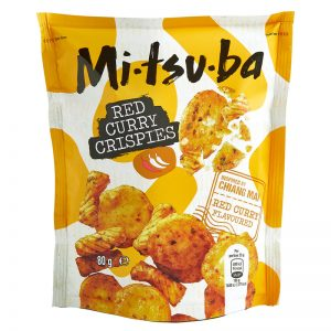Snack de Arroz com Caril Vermelho Mitsuba 80g