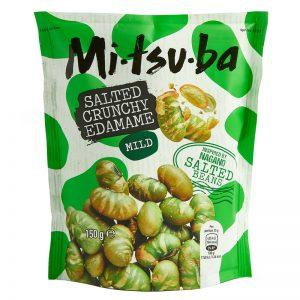 Mitsuba Salted Crunchy Edamame 150g