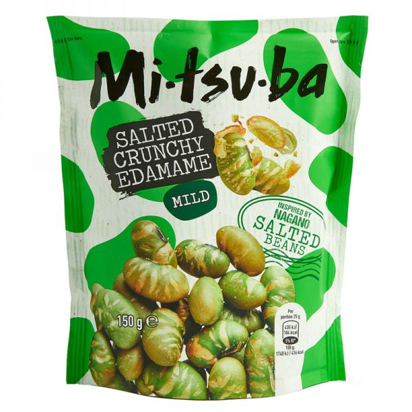 Snack de Edamame Salgado Mitsuba 150g