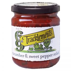 Tracklements Cucumber & Sweet Pepper Relish 220g