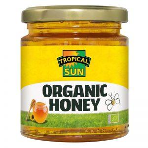 Tropical Sun Organic Honey 340g