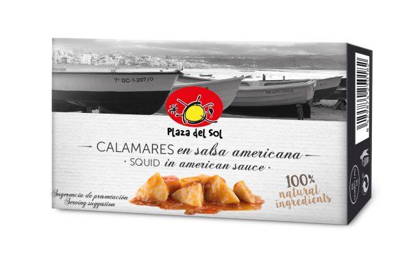 Calamares em Molho Americano Plaza del Sol 115g