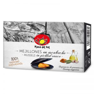 Plaza del Sol Mussels in Pickled Sauce 115g