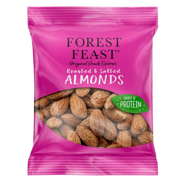 Amêndoas Torradas com Sal Forest Feast 40g