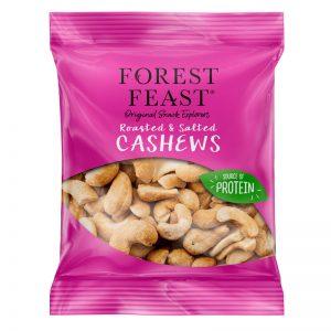 Cajus Torrados com Sal Forest Feast 35g