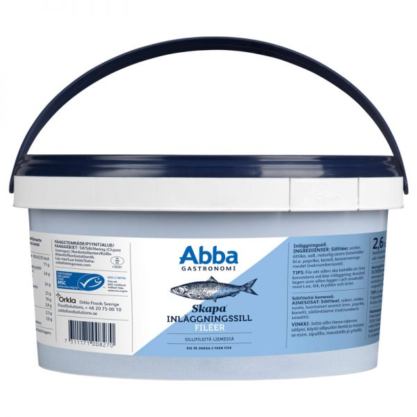 Abba Seafood Whole Herring Filets 2
