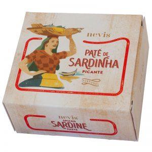 Paté de Sardinha Picante Nevis 65g