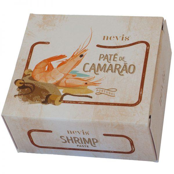 Paté de Camarão Nevis 65g