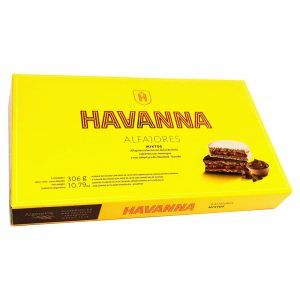 Alfajores Mistos Merengue/Chocolate Havanna 306g