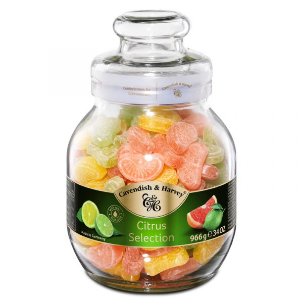 Cavendish & Harvey Citrus Selection in Large Jar 966g