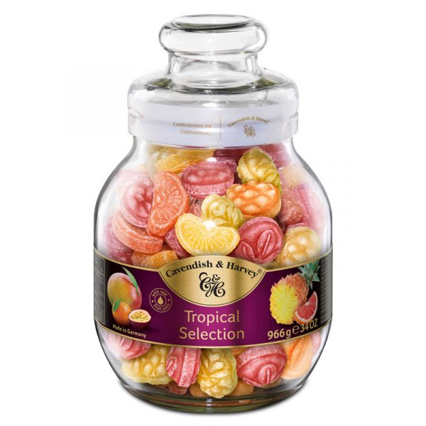 Cavendish & Harvey Tropical Selection in Large Jar 966g