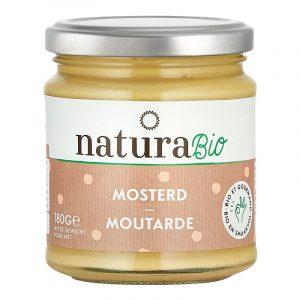 Natura Organic Mustard 180g