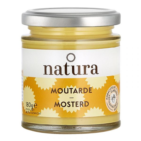 Mostarda Natura 180g