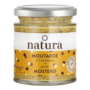Natura Wholegrain Mustard 160g