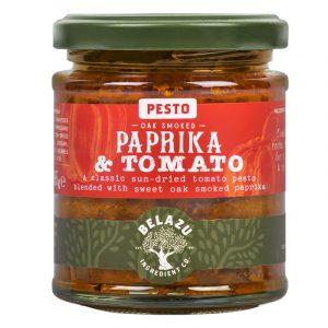 Belazu Oak Smoked Paprika & Tomato Pesto 165g