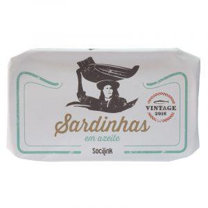 Sardinhas em Azeite Vintage 2016 bySocilink 125g