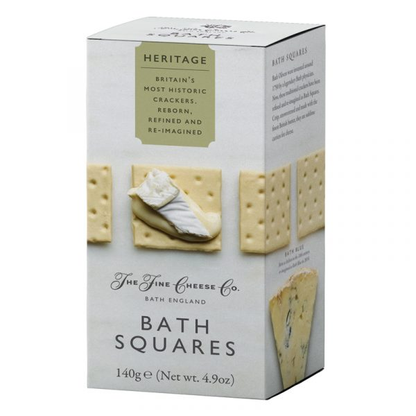 Crackers Bath Squares Heritage The Fine Cheese Co. 140g