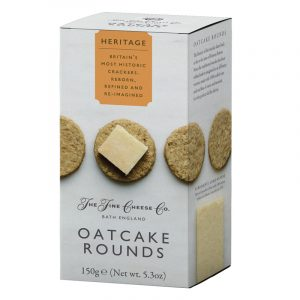 Crackers Oatcake Rounds Heritage The Fine Cheese Co. 150g