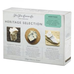 Conjunto de Crackers Heritage Selection em Caixa The Fine Cheese Co. 430g