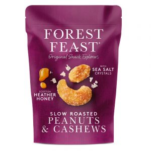 Forest Feast Peanuts and Cashews with Honey and Sea Salt 120g