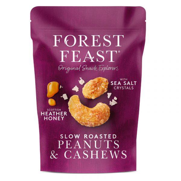 Amendoins e Cajus com Mel e Sal Marinho Forest Feast 120g