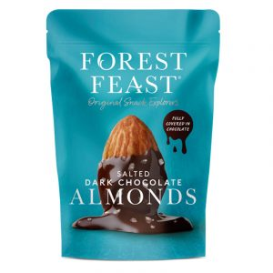 Forest Feast Almonds with Dark Chocolate and Salt 120g