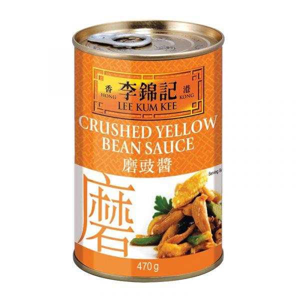 "Molho ""Crushed Yellow Bean"" Lee Kum Kee 470g"