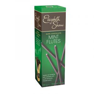 Elizabeth Shaw Dark Chocolate and Mint Flutes 105g
