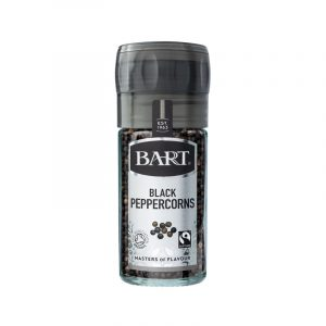 Moinho de Pimenta Preta Fairtrade e Biológica Bart Spices 40g