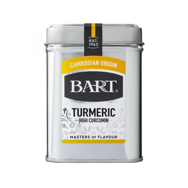 Curcuma com Elevado teor Curcumina Bart Spices 60g