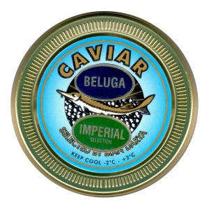 Caviar Imperial Beluga Huso Huso Iran Darya 50g