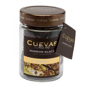Marron Glacé com Chocolate Preto em Frasco CUEVAS 160g