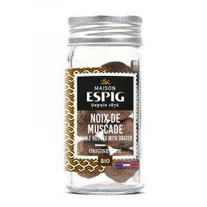 Noz-Moscada Biológica com Raspador Maison Espig 26g