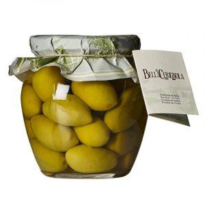 Azeitonas Verdes Bella Di Cerignola 81-90/kg Fratepietro 290g