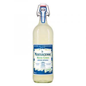 La Mortuacienne Lemon Artisanal Sparkling Limonade 1000ml