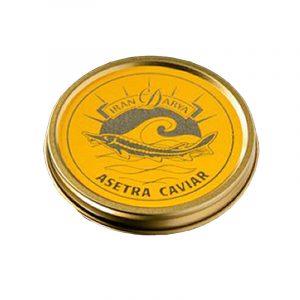 Caviar Asetra Acipenser Gueldenstaedtii Iran Darya 30g