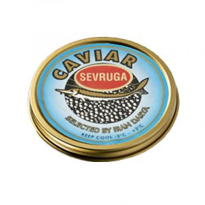 Caviar Sevruga Acipenser Stellatus Iran Darya 30g