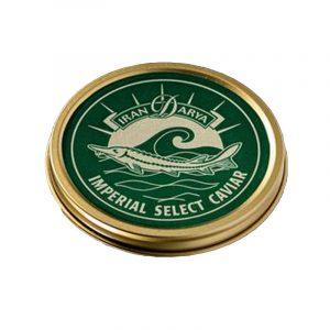 Caviar Imperial Acipenser Baerii Iran Darya 50g