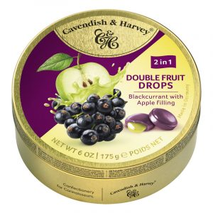 Cavendish & Harvey Redcurrant Candy with Apple Filling 175g