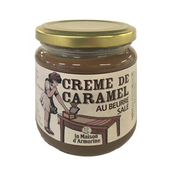 Creme de Caramelo com Manteiga Salgada  La Maison Armorine 220g